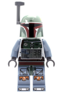 ClicTime - Lego Star Wars Boba Fett Minifiguren Wecker (Foto: Amazon)