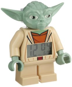 ClicTime Lego Star Wars Yoda Minifiguren Wecker<br /><br />(Foto: Amazon)
