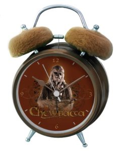 Star Wars Wecker mit Chewbacca Sound Analog (Foto: Amazon)