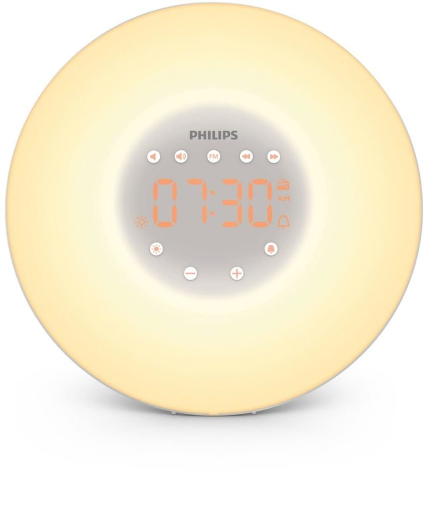 Philips HF3505/01 Wake-up Light LED Lichtwecker: Aufwachen mit Licht