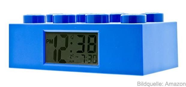 Lego Wecker online kaufen bei Amazon bestellen Lego Baustein LCD Wecker