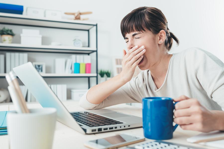 Müdigkeit durch chronischer Schlafmangel