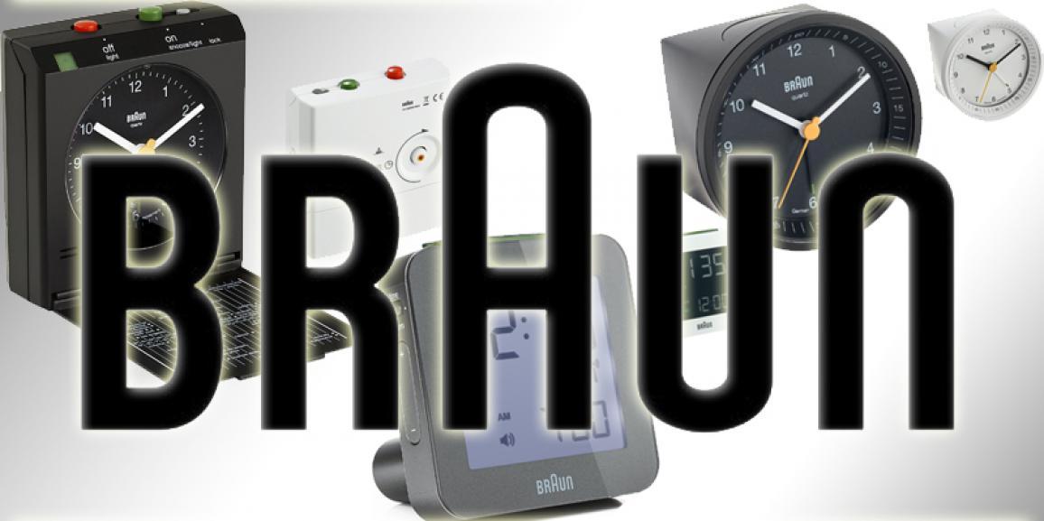 Braun Wecker: Reisewecker, analoger Wecker und digitaler Wecker von Braun