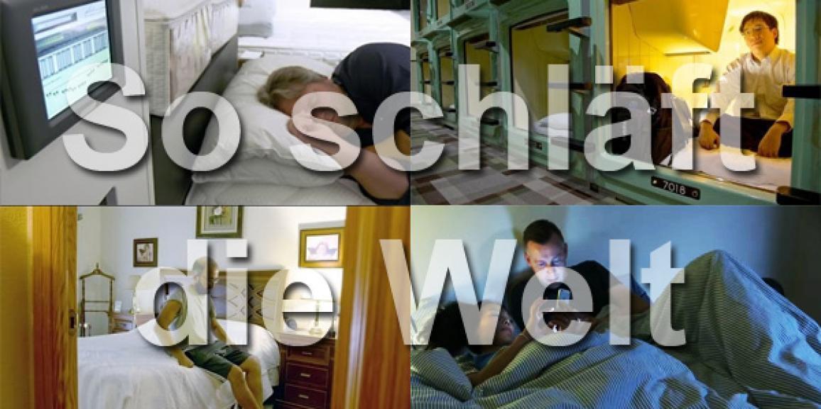 So schläft die Welt: Schlafen in Deutschland, Japan, Spanien, den USA und Frankreich